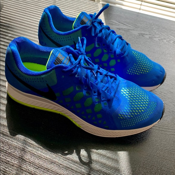 magasin en ligne ab338 56369 Nike Air Zoom NEW Pegasus 31 Blue Size 12.5 W2E NWT